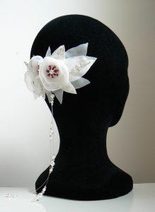 création sur mesure bijou cheveu mariage