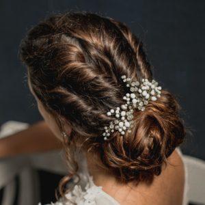 bijou de mariage pour coiffure de mariée