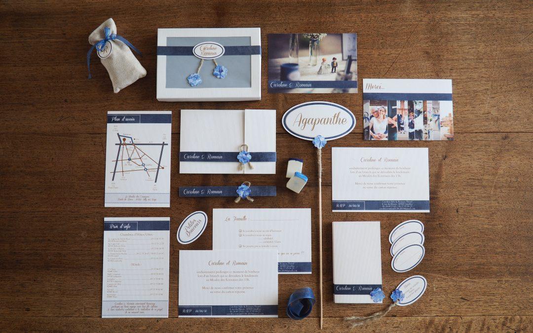 Caroline & Romain – Mariage en bleu au Moulin des Ecrevisses (80)