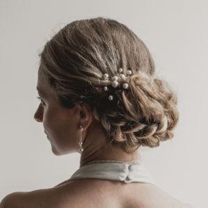 epingle à chignon pour coiffure de mariage avec perles boules